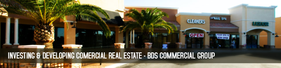 Selling Commercial Real Estate is only part of ehat we do - BDS Commercial Group